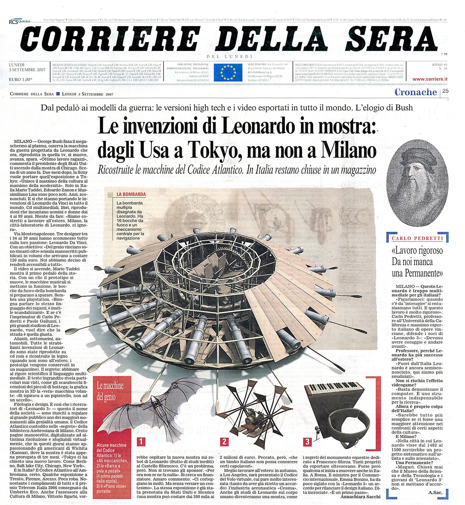 Mario taddei for Corriere della sera arredamento