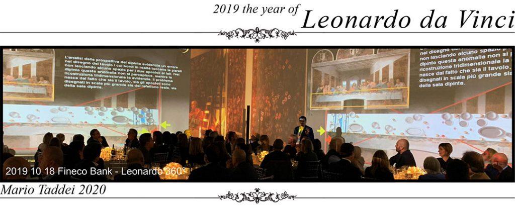 Mario Taddei - Lectures - 2019-10-18 Fineco Bank - presentazione Leonardo 360 1c